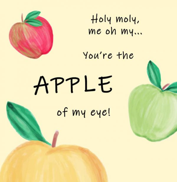 Miscellaneous Greeting Cards (Multiple designs) - Apple 1