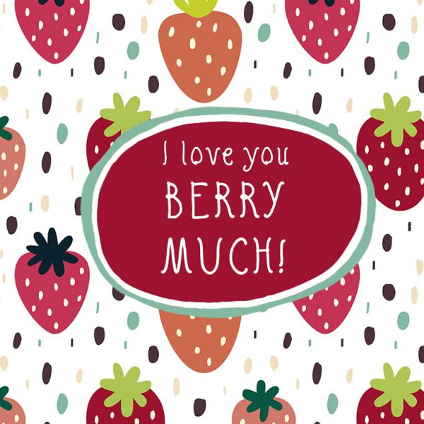 Miscellaneous Greeting Cards (Multiple designs) - Berry Much 1