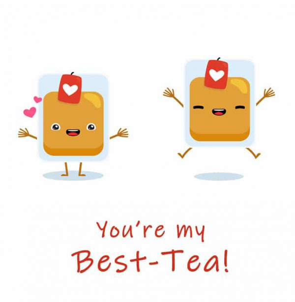 Miscellaneous Greeting Cards (Multiple designs) - Best tea 2 1