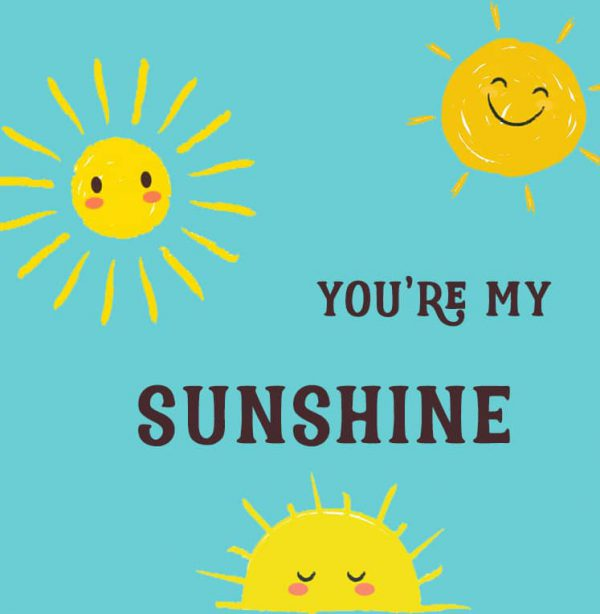 Miscellaneous Greeting Cards (Multiple designs) - Sunshine 1