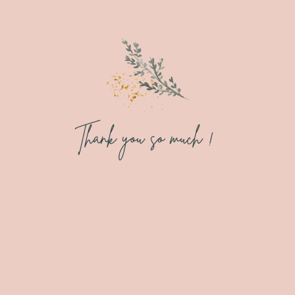 Thank You Cards (Multiple designs) - 1 4