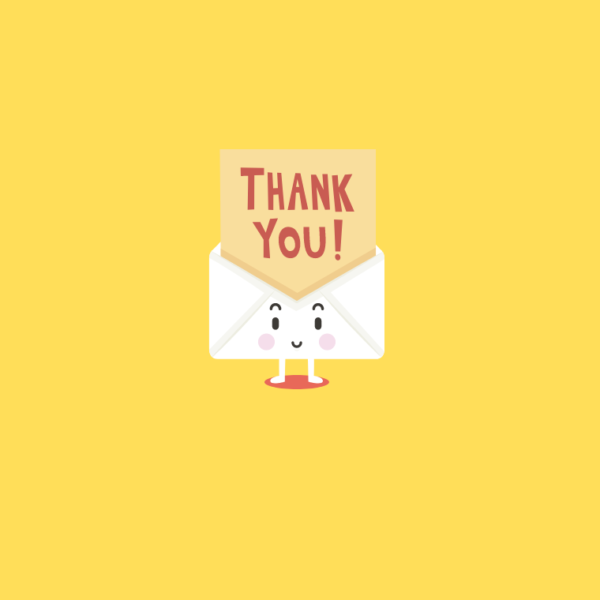 Thank You Cards (Multiple designs) - 4 3